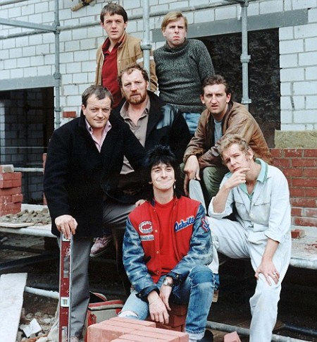 "Television programme: ""Auf Wiedersehen Pet"" The cast of the tele"